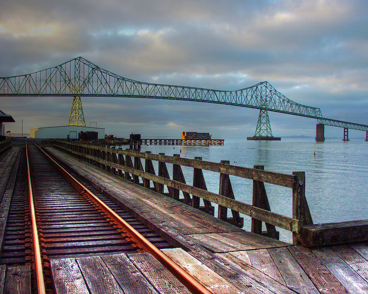 Bridge from Astoria, OR to Washington across the Columbia