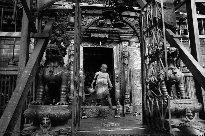 Living Budda @Nepal