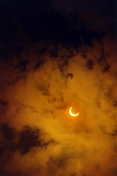 Solar Eclipse - 1994_Shelburne, VT
