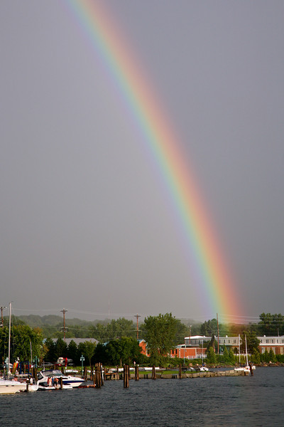 Waterfront Rainbow - Burlington, VT 2008