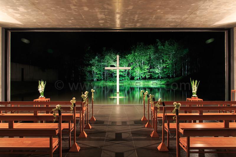 安藤忠雄 - 水教堂<br /> Tadao Ando - Water Chapel