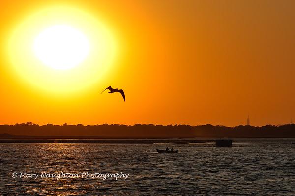 Reynolds Channel sunset, Long Beach, NY