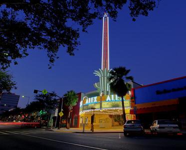 Alex Theatre marquee, Brand Blvd, Glendale, CA