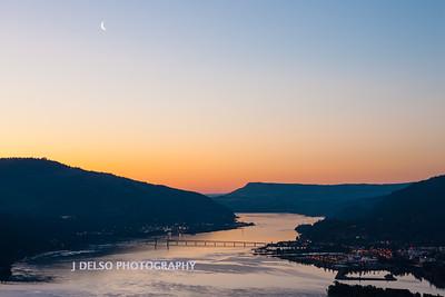 Columbia River Sunrise-1