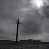 """Sacred Farm""<br /> Powerlines at Holme-Olstrup, Denmark."