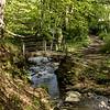 Pont Burn Waterfall and stream