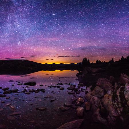 Reflected Auroras