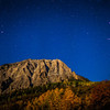 """<font size=""""5"""" font="""""""" face=""""trajan pro, Copperplate Gothic Bold""""><b>Marcellina Mountain</b></font> <font face=""""trajan pro"""">Moonlight Marcellina Mountain on Kebler pass near Crested Butte Colorado</font>"""