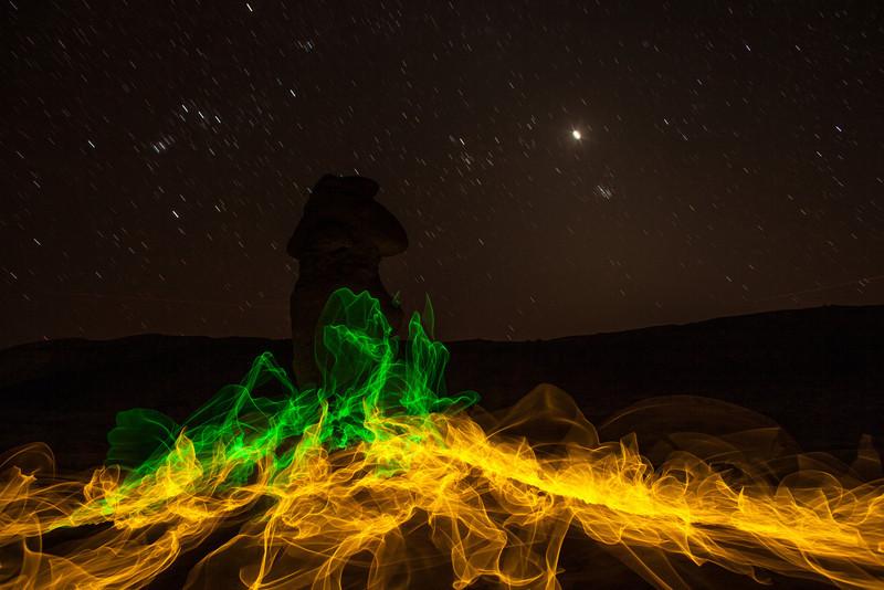 Magic Fire 2 Goblin Valley Utah