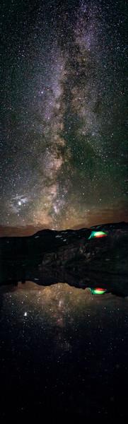 Camping on Taylor Pass in Colorado  Camping under the MilkyWay Camping on Taylor Pass near Aspen Colorado