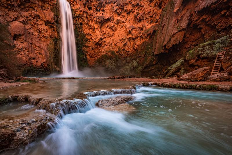Bottom of Mooney Falls
