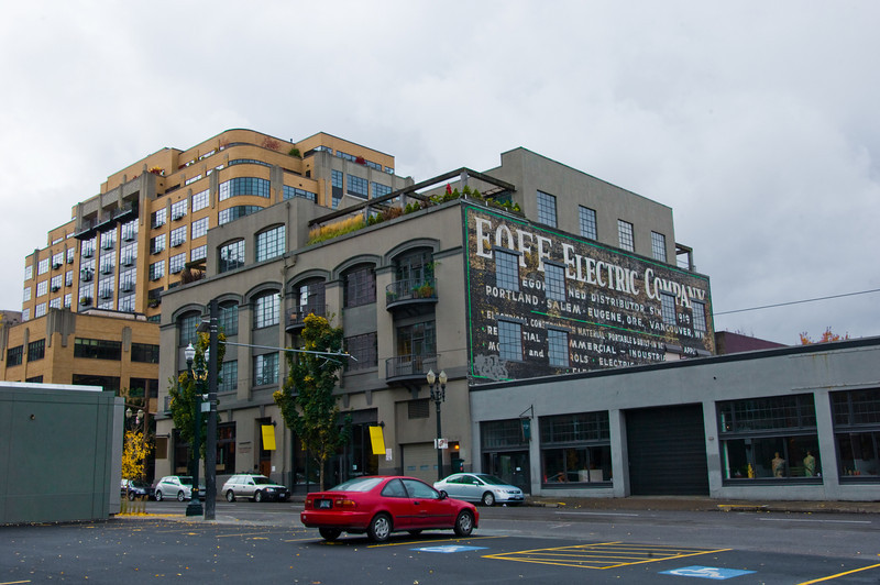 Street Scape Portland