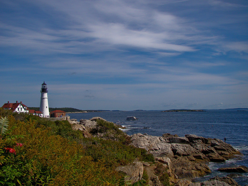 Portland Head Light, September 2009