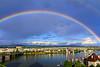 Rainbow over Portland