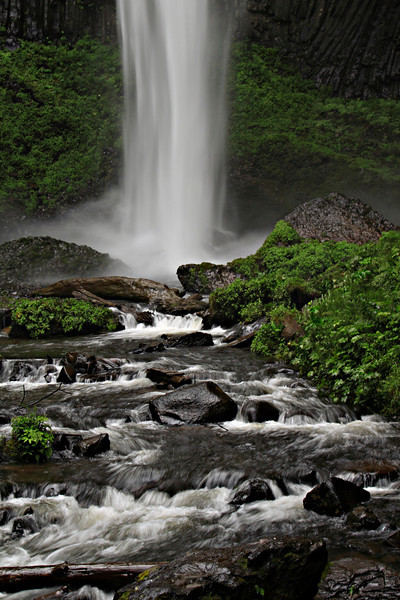 LaTourell Falls, Columbia River Highway, Oregon