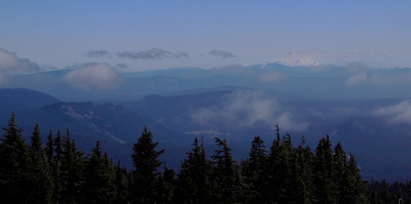 Mt. Jefferson barely visible on the right