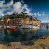 13/09/2013 – 08:57 Portofino alla prima luce del mattino, Golfo del Tigullio, Riviera Ligure di Levante, Genova Italy