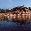13/09/2013 – 06:31 Portofino al crepuscolo di un nuovo giorno. Golfo del Tigullio, Mar Ligure. Genoa Italy