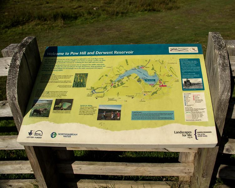 Around Derwent Reservoir on the Durham/Northumberland border
