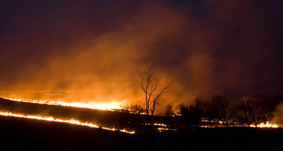 Prairie Burn 2, Flint Hills, near Topeka, Kansas