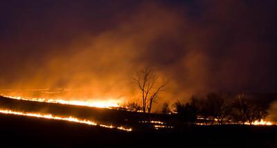 Prairie Burn 2, Flint Hills, near Topeka, Kansas
