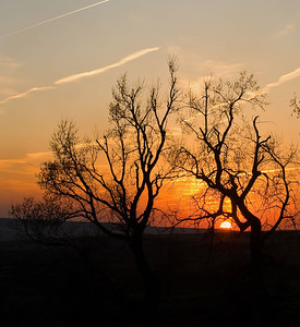 Flint Hills Sunset, in the Flint Hills, near Alma, Kansas