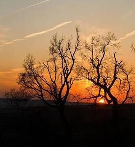 Flint Hills Sunset, in the Flint Hills, near Alma, Kansas