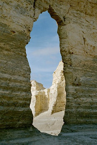 Keyhole Arch, Monument Rocks, Gove Co., Kansas