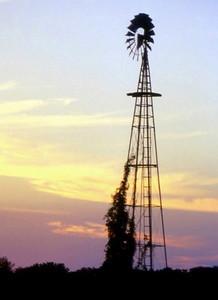 Windmill, Cheney, Kansas