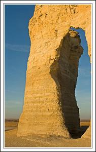 Keyhole Arch, Monument Rocks, Gove Co., Kansas