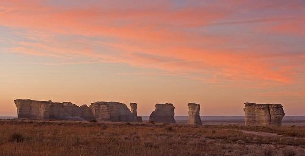 Monument Rocks, Gove Co., Kansas