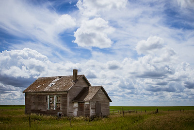 Pioneer, this house has sat over the years right here watching over the fields