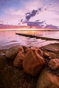 Jackfish Lake Sunset 1