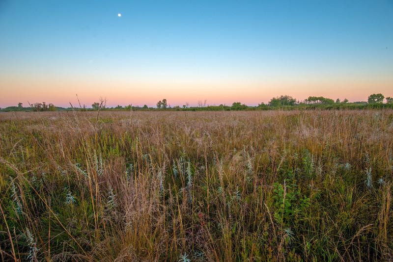 MNPR-13-193: Setting Moon on the prairie