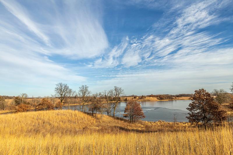 Oak-Savanna prairie in November