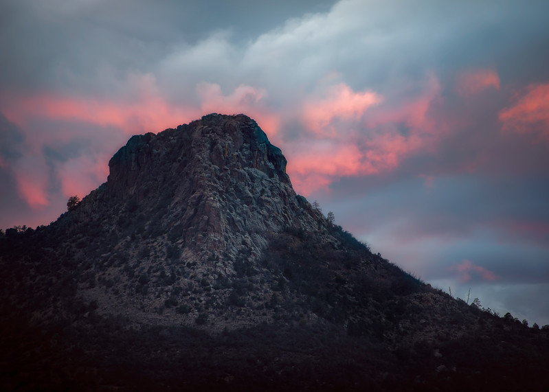 Thumb Butte Flames
