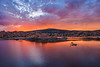 Tranquil Morning Glow at Watson Lake in Prescott