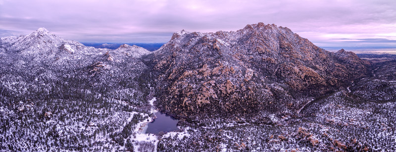 Granite Mountain in Winter
