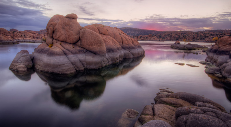 Early Fall Morning at Watson Lake, Prescott