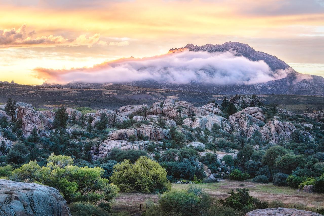 Cloudy Granite Mountain