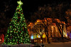 The Christmas tree at the Courthouse Plaza in Prescott, AZ