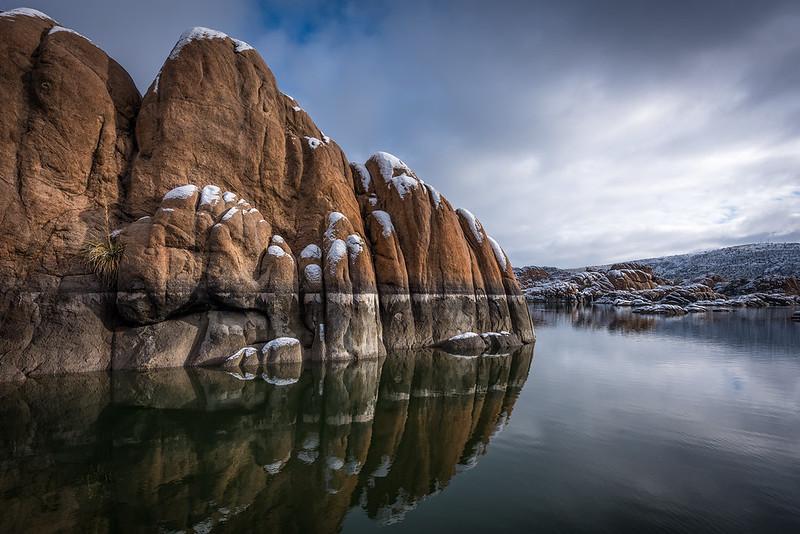 Snow Tipped Granite