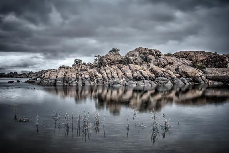 Reflected Granite