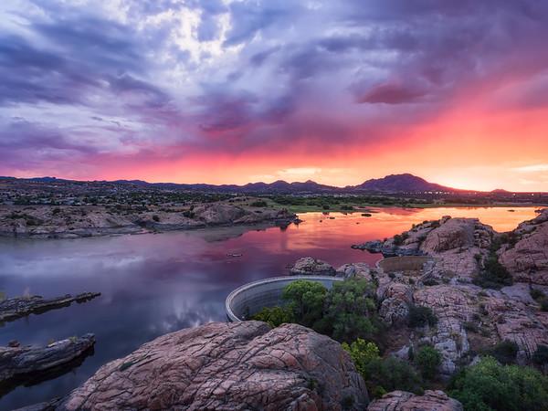 Image result for prescott az sunset images