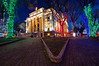 Christmas Lights at the Yavapai County Courthouse