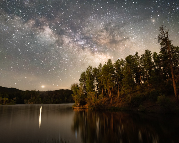 Milky Way Over Lynx Lake