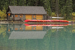 Boat House at Lake Louise