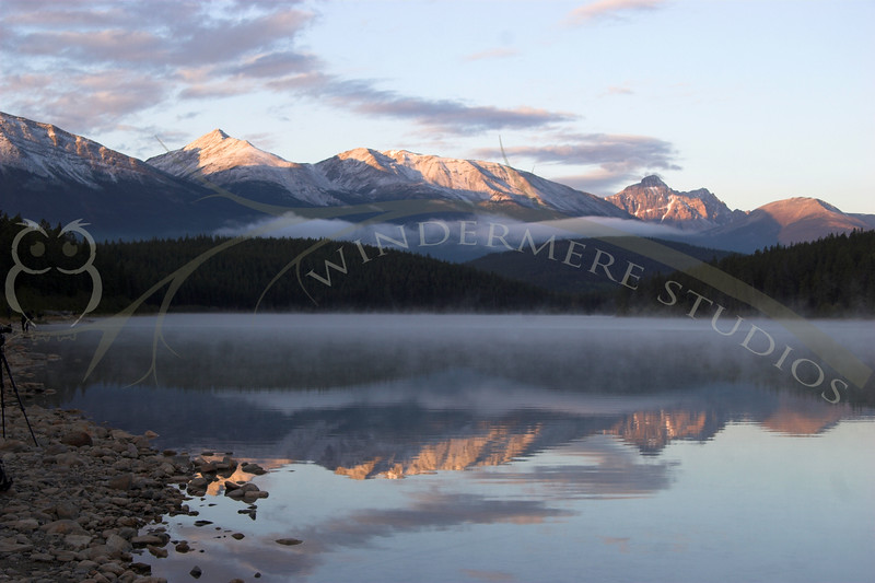 Patricia Lake, Jasper National Park, Sunrise