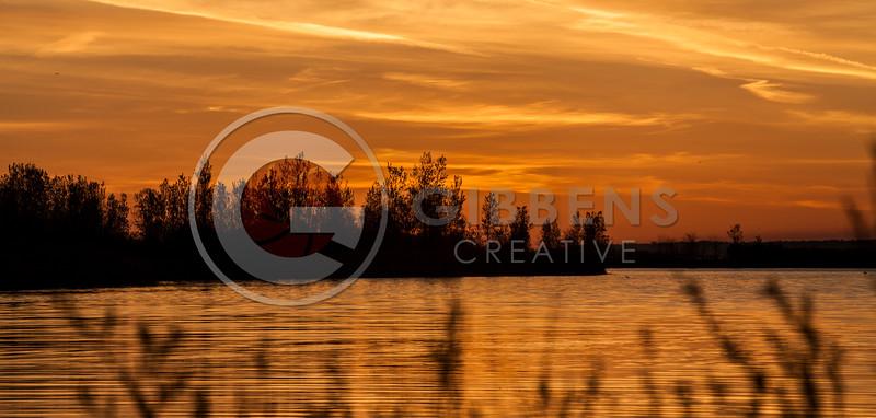Presque Isle Lagoons May Sunrise