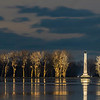 Perry Monument Winter From Holland